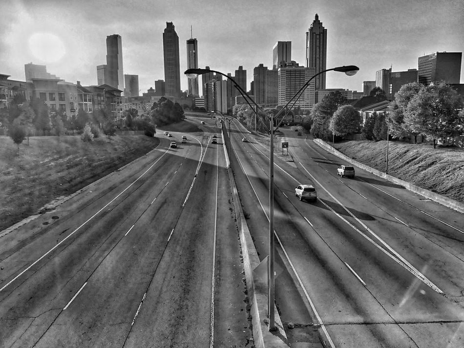 Blackandwhite Urban Landscape Urban Skyline