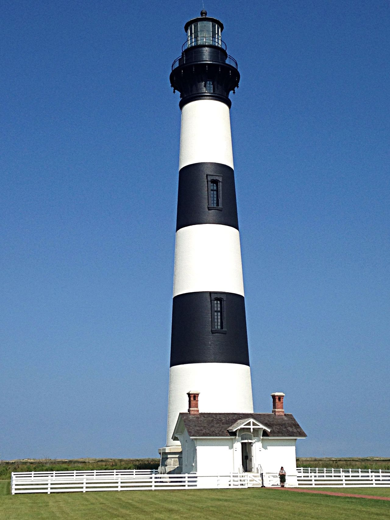 Bodie Island Lighthouse. Traveling OBX14 Lighthouse
