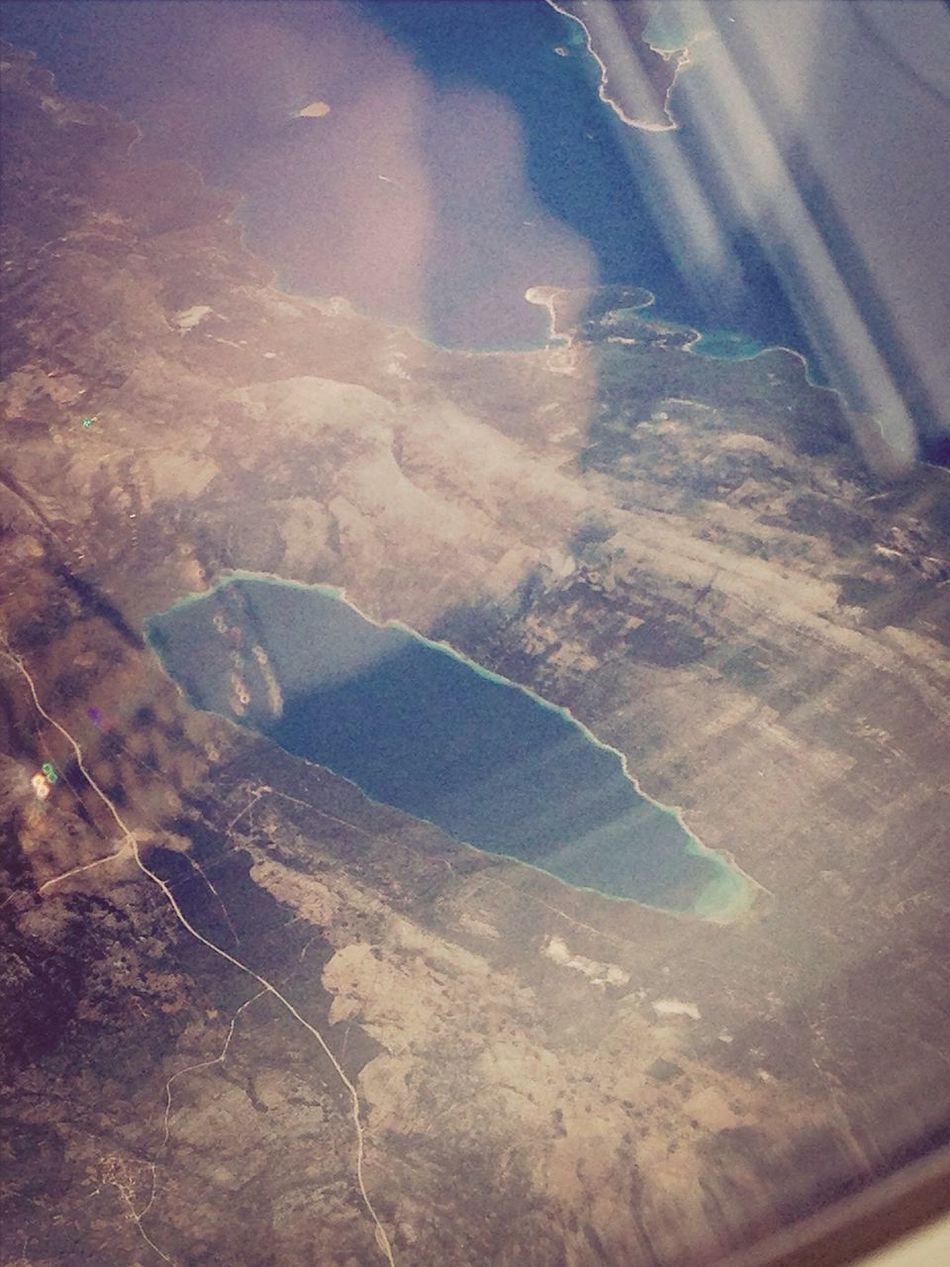 La vue d'un avion :)