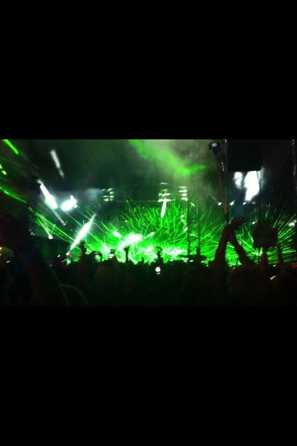 Huh, that was fucking amazing ! Weekendfestival Deadmau5