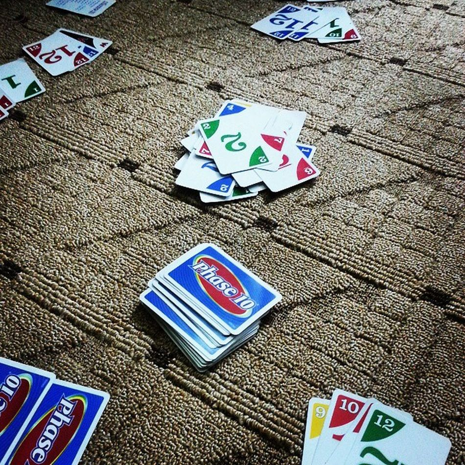 Phase10Night Cards Cardgames Familynight