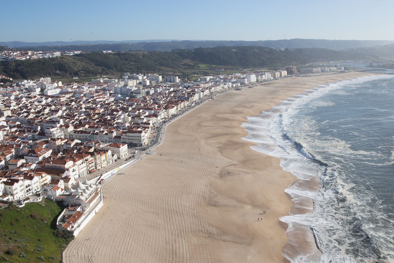 beautiful portugal Architecture Beach City Cityscape Clear Sky Day Nature No People Outdoors Sea Sky Travel Destinations