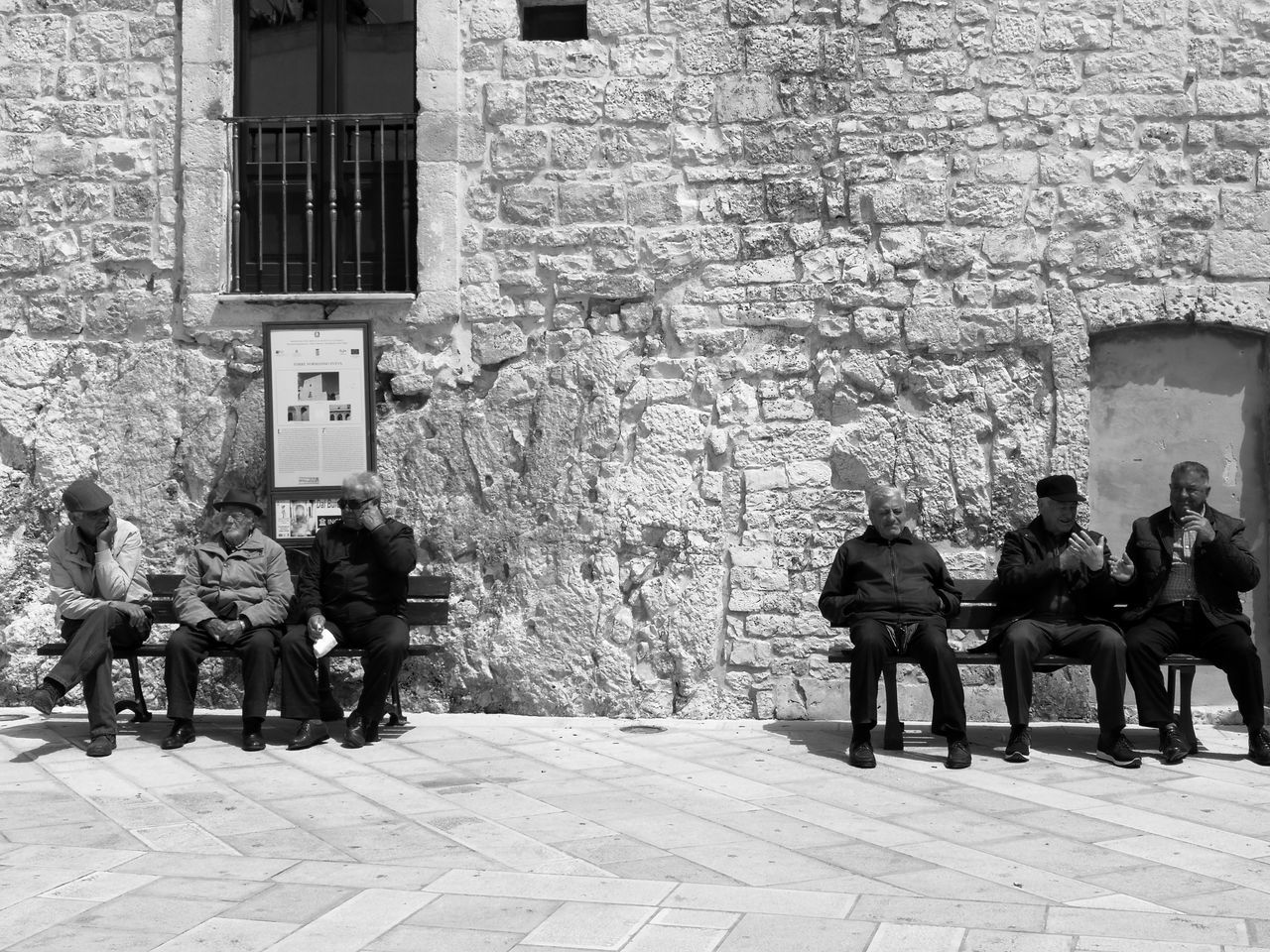 "The Street Photographer - 2017 EyeEm Awards No Filter No Filters Or Effects Italy🇮🇹 Nofilter No Filter, No Edit, Just Photography Blacknwhite Blackwhite Black & White Photography Blackandwhitephoto ""Old retired men in Cisternino"" Cisternino"