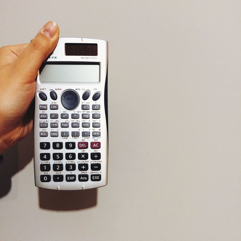 Beautiful stock photos of math, Accuracy, Calculator, Copy Space, Cropped