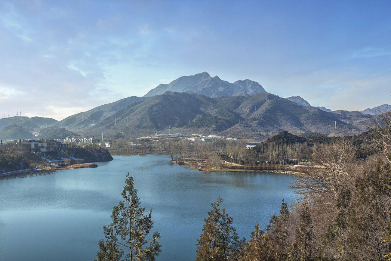 雁栖湖 环形湖之二。