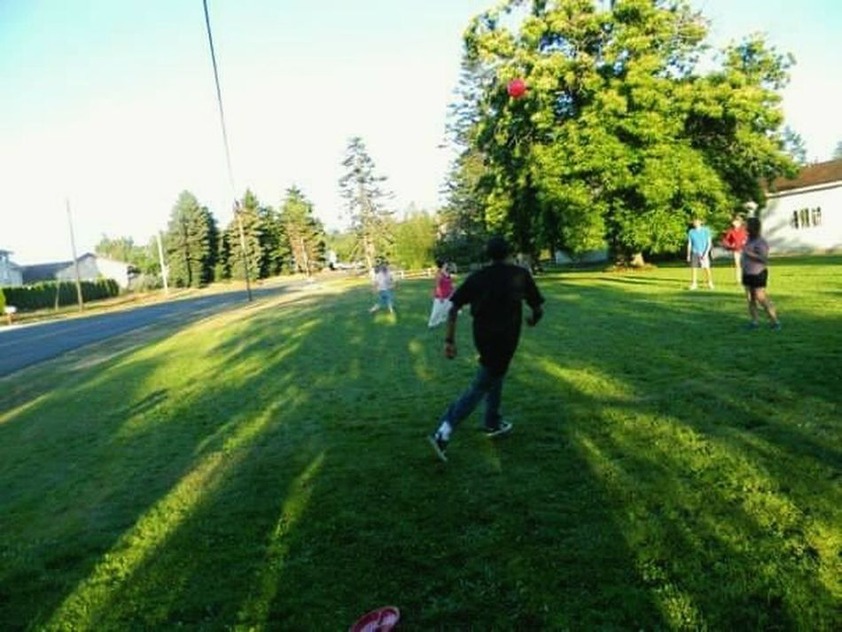 Sports Photography Kickball Tournament Another Day In The Hood .. Somewhere In Seattle Goodtimes With Goodpeople Friends