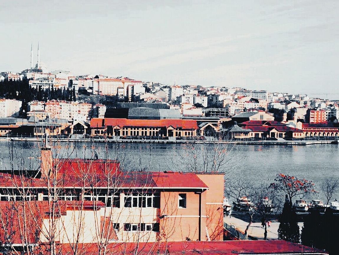 Red Houses Sea Turkey Scenery Building Follewers Beautiful Photography Phone Photography