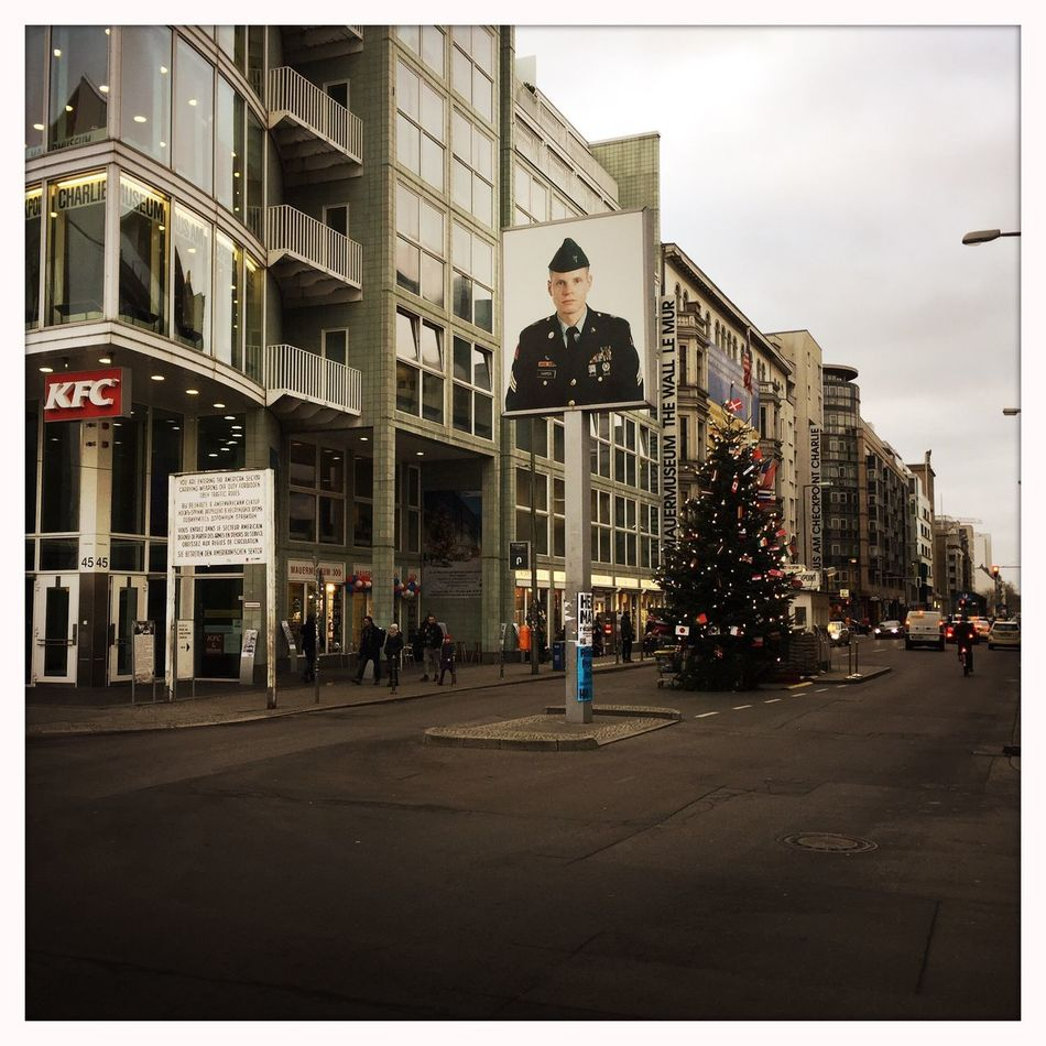 Check point Charlie City Berlin Checkpointcharlie Street Streetphotography Thewall Friedrichstrasse