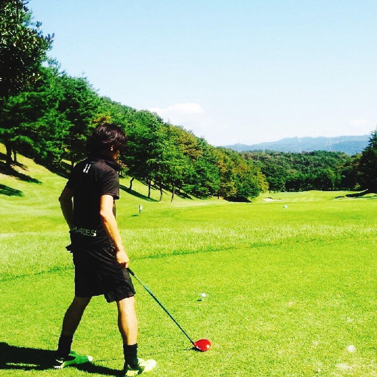 わたくし。ゴルフチームのキャプテンだったりして。😊 風月cc 栃木県 Golf 2015  仲間