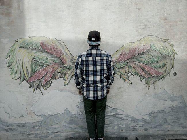 Angel Got Wings In Back
