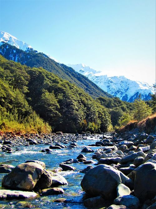 Mountain Creek at Arthur's Pass Arthur's Pass Beauty In Nature Boulder Clear Sky Day Flowing Water Mountain Mountain Range Nature New Zealand Scenery No People Outdoors River River View Rocks Rocks And Water Scenics Sky Snow Snow Capped Mountains Snowcapped Mountain Tranquility Valley Water Water Over Rocks Neighborhood Map The Great Outdoors - 2017 EyeEm Awards Sommergefühle EyeEm Selects Shades Of Winter