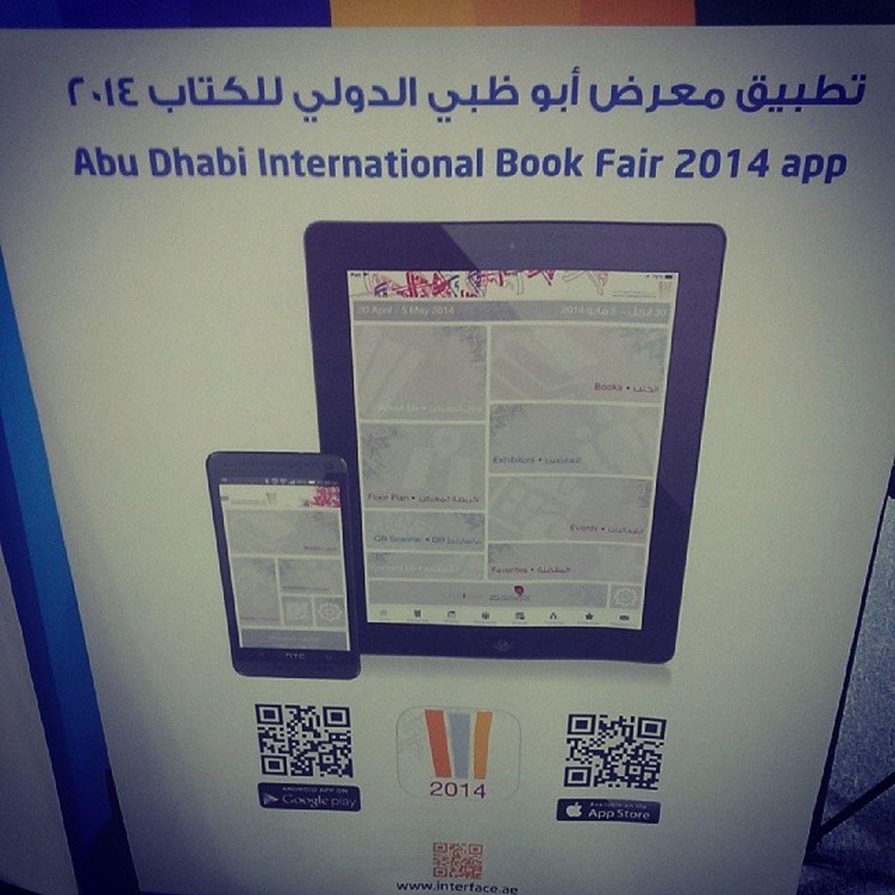 تطبيق معرض_أبوظبي_للكتاب ADIBF2014 mobil app