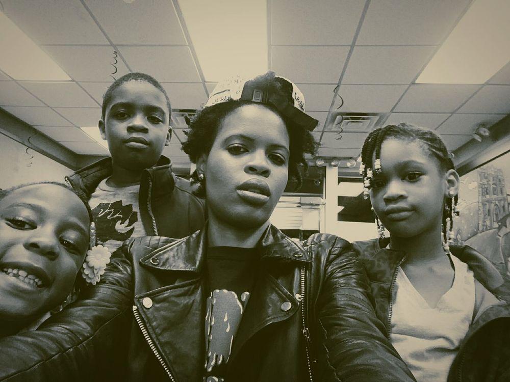 Family... Hanging Out Kids EyeEm Best Shots - Black + White Family EyeEm Best Shots Selfportrait New York Ridgewood Bushwick Nightphotography Mcdonalds Fun Urbanphotography Enjoying Life