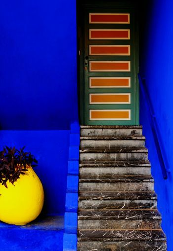 Enjoy The New Normal Traveling Travelling Photography Marroco Yves Saint Laurent Majorellegarden Colour Arquitecture Best Eyeem Pics Bestpic Best Picture  Simplicity Beautiful And Colourful No People