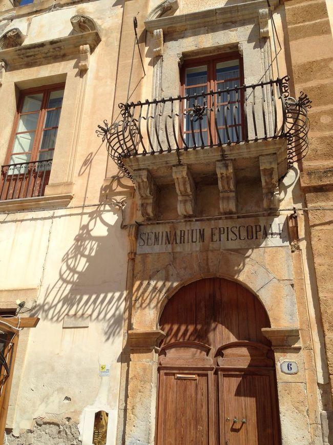 Seminarium Seminary Seminario Episcopal Episcopalian Cefalu  Sicilia Sicily Italy