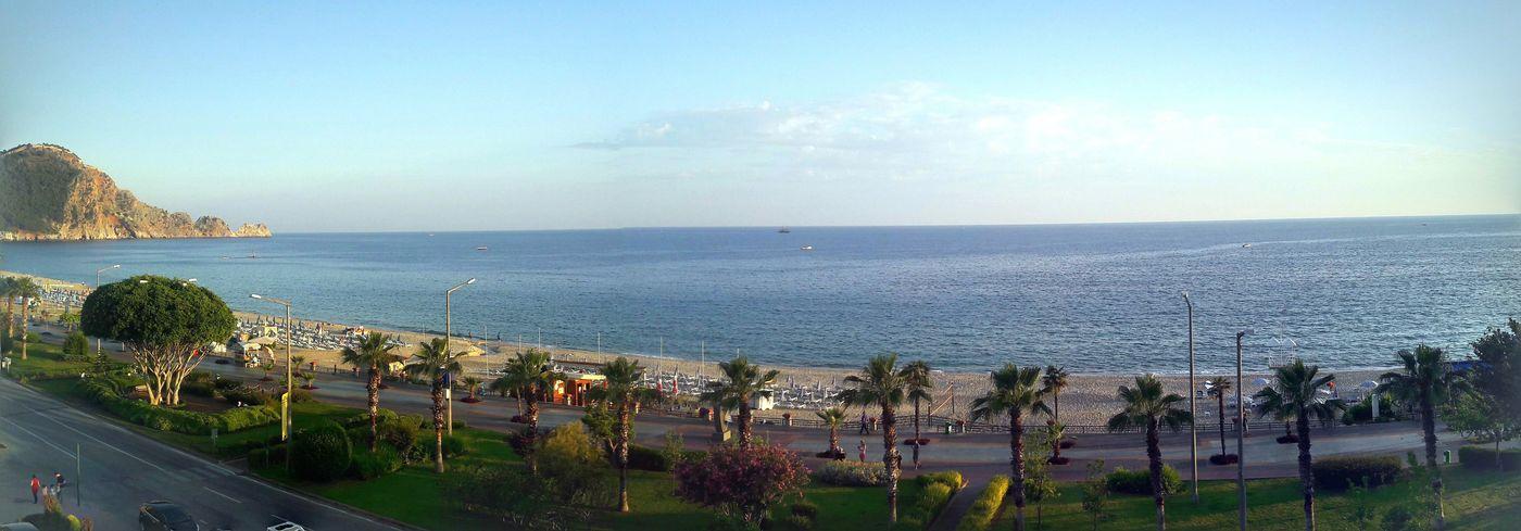 Sea Day No People Beach Sky City Outdoors Deniz Akdeniz Gezinti Sahilkenarı Balkony From Balcony Wiev Wiev From Window Alanya Antalya öğretmenevi Alanya Panorama