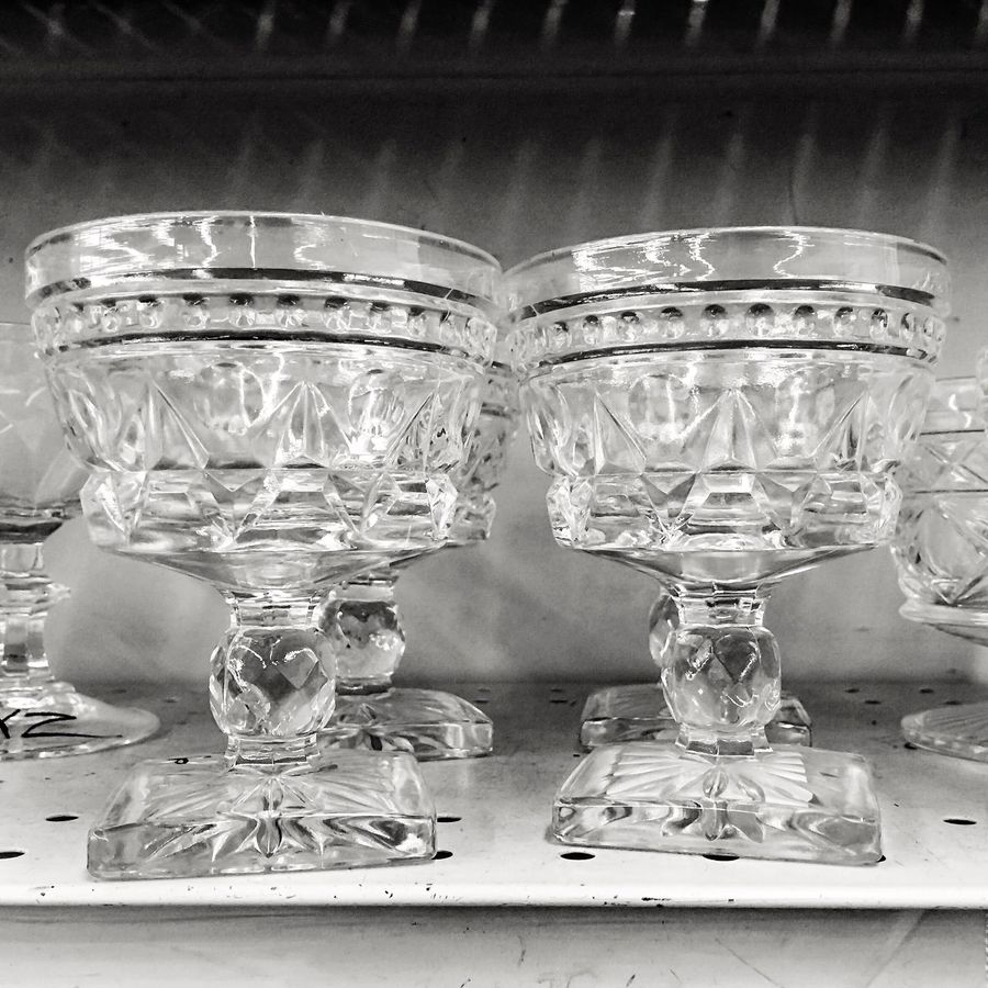 Thrift store for photos..found these nifty goblets.. Silhouette Our Best Pics IPhoneography Light And Shadow Contrast EyeEm Best Shots - Black + White Blackandwhite Black & White Black And White Monotone Minimalism EyeEm Best Shots Light And Shadows Goblets Our Best Pics