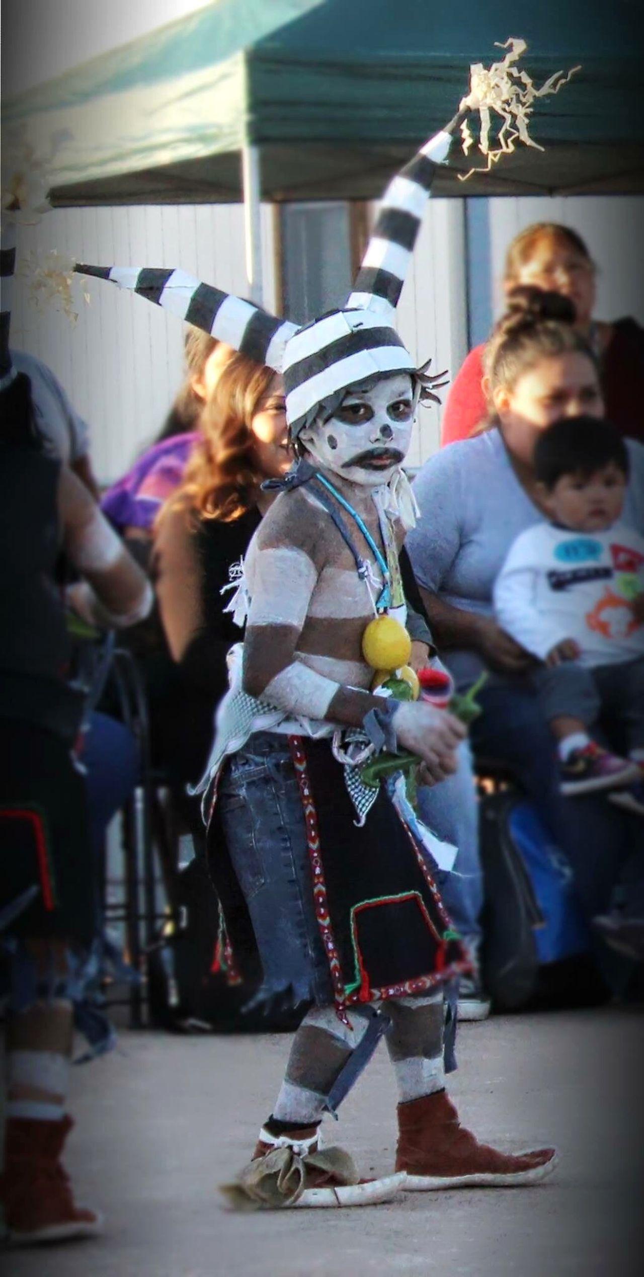 Real People Full Length Indoors  People Headwear Day Child Dance Dancer Hopi Hopi Reservation Reservation Travel Tradition Traditional