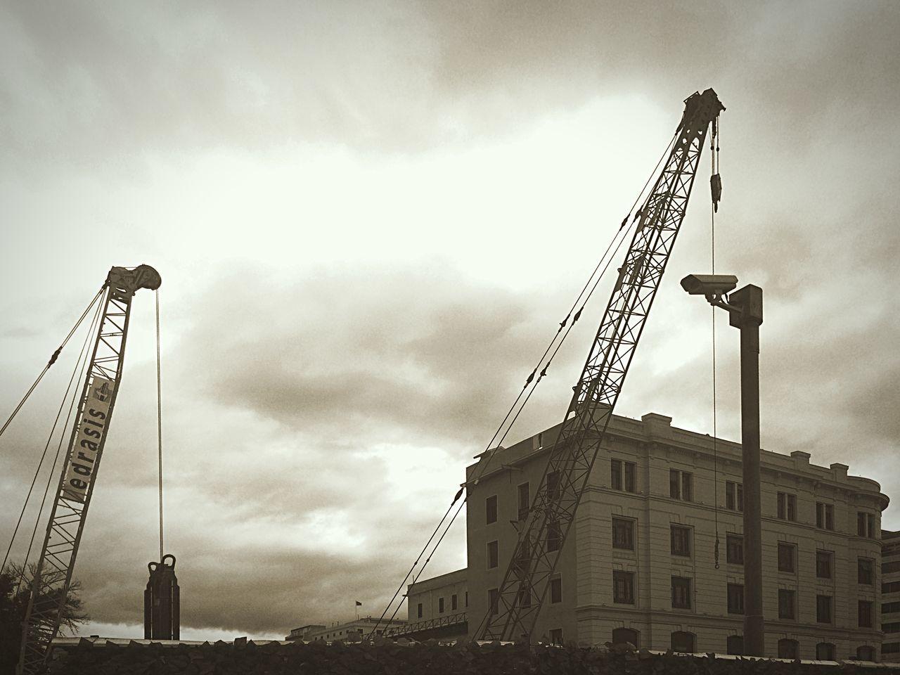 Industrial Scenery Railway Train Station At The Port of Piraeus ✨💜 Blackandwhite Urbanphotography Urban Landscape Urban Architecture