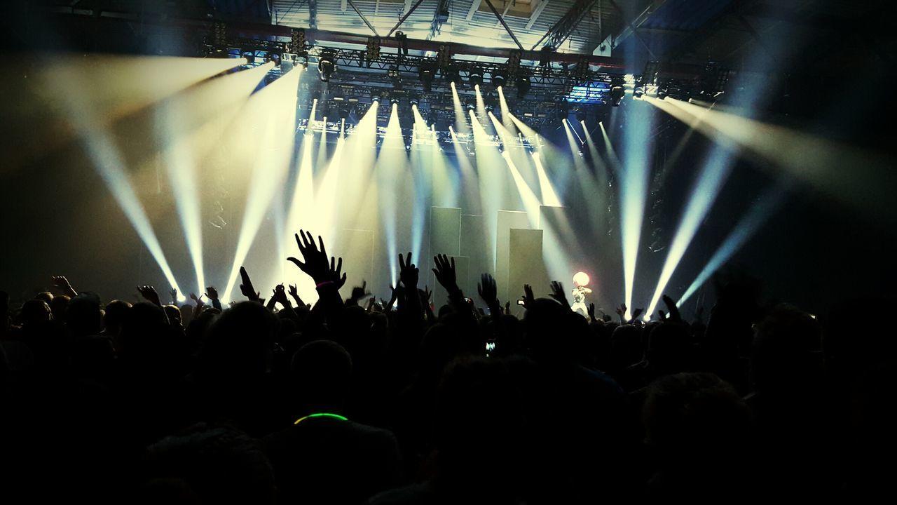 Concert Live Music Crowd Deichkind Mannheim Maimarkt Rap HipHop Leider Geil ! Party