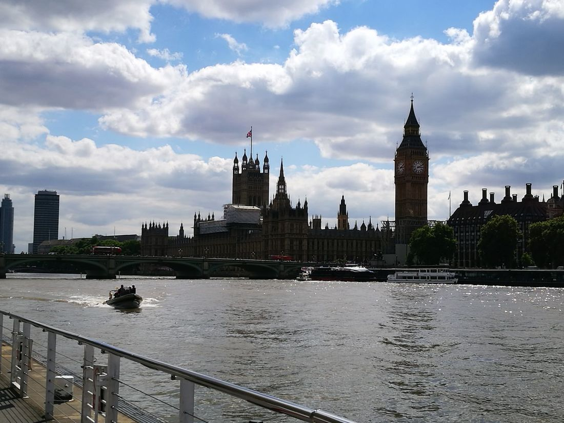 Architecture Cityscape Thames River Big Ben Over There EyeEm LOST IN London London Love Special Day In London EyeEm Selects Architecture Summer Urban Skyline Cityscape Panoramic Your Ticket To Europe