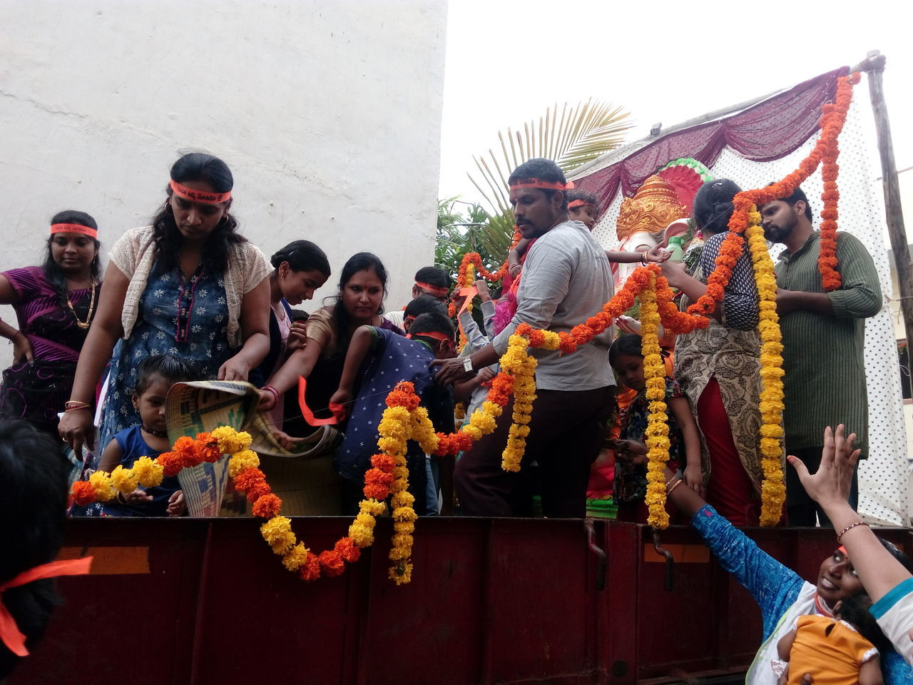 No Edit/no Filter Celebration Ganesha Visarjan Ganesha Statue Visarjanday Ganesha Lord Of Success Ganeshafestival Celebrated Outdoors