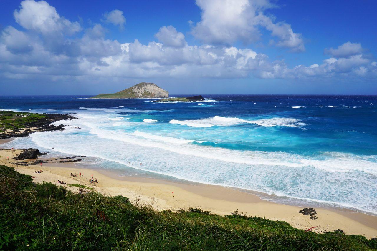 2015  Beach Beauty In Nature Cape  Hawaii Landscape Makapuu Makapuu Beach Makapuu Lookout Makapuu Lookout Mountain Nature O'ahu Outdoors Scenics Sea Seascape Sky Water ハワイ ビーチ マカプウ マカプウルックアウト マカプウ岬 海