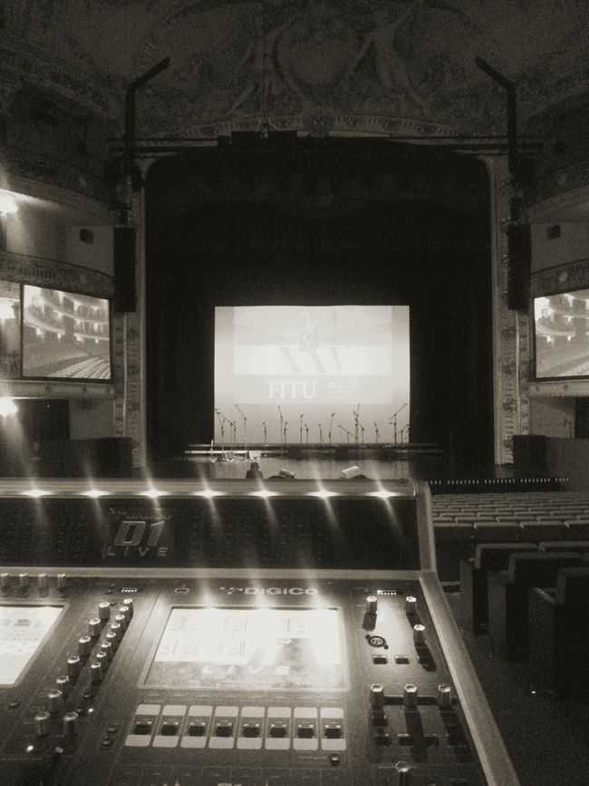 Performance Theater Concert Music Braga Black And White Photo Portugal My Desk At Work Mixing Sound