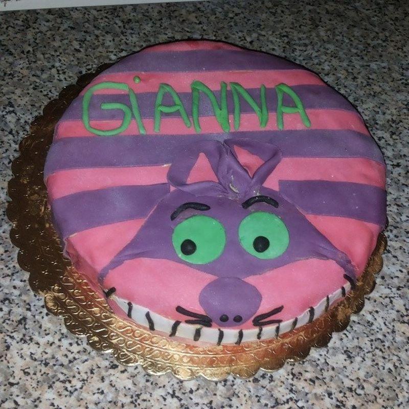 My Birthday Cake 23 Years Old Stregatto Alicenelpaesedellemeraviglie Deliziosa