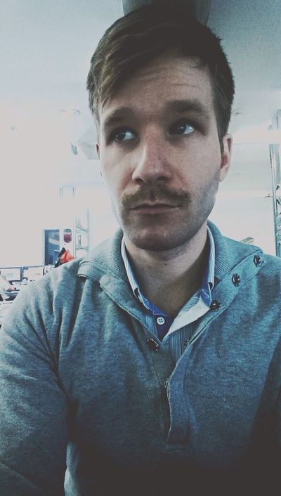 Show Us Your Mo By Movember Selfportrait Selfie Hello World