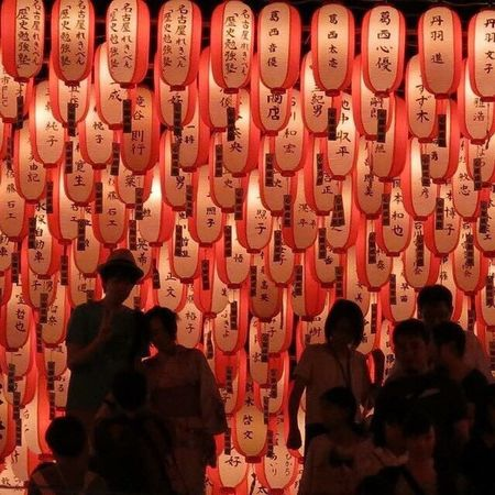 EyeEmNewHere Real People Red Lifestyles Men Lighting Equipment Repetition Women Cultures Adults Only Large Group Of People Indoors  Crowd People Adult Only Men Day Japan Photography ちょうちん