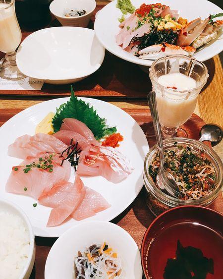 Sashimi  Japanese Food Hukuoka, Japan Fisher's