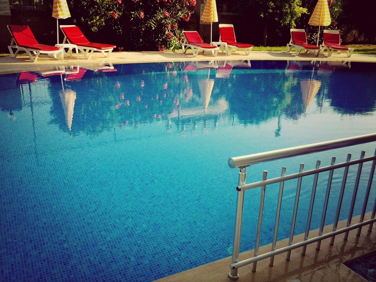Swimming Pool Holiday Enjoying Life Antalya Turkey