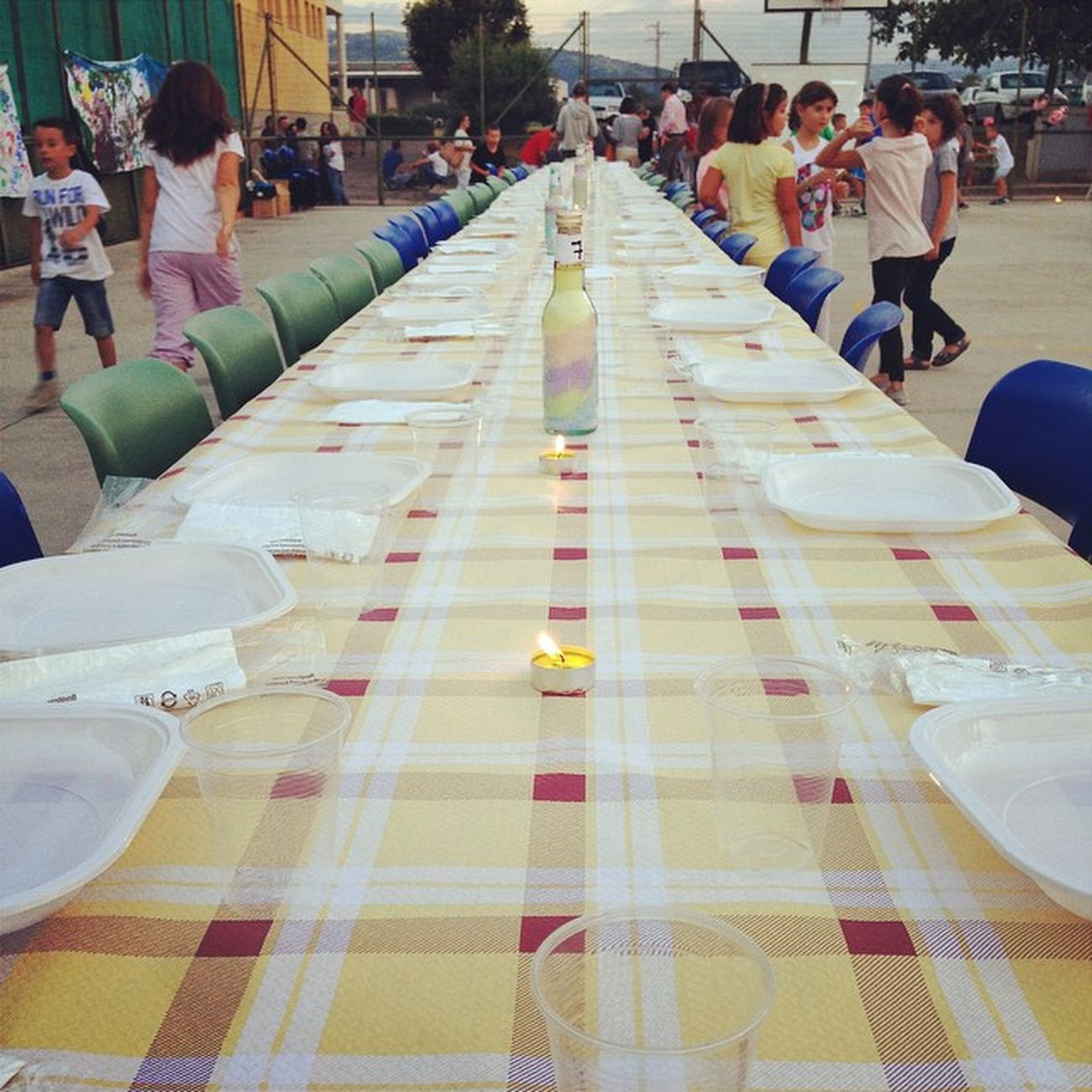 Cena di fine estate (ma quando mai è iniziata?) #campoestivo #pratissolo #estate2014 #kidsjustwantohavefun #cena #people #community