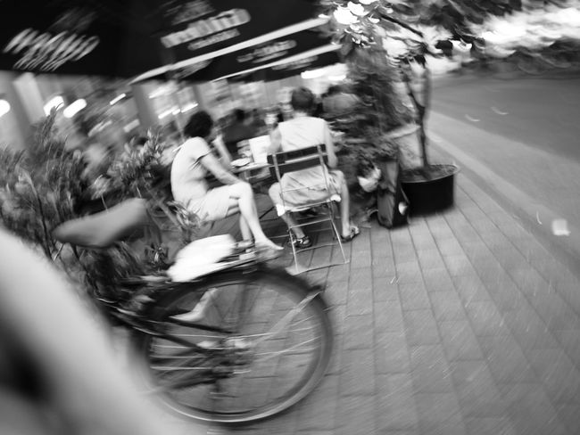 City Life Day Outdoors Selective Focus Streetphoto_bw Streetphotography Swirl Tranquility The Purist (no Edit, No Filter) People And Places Swirly Street Photography Streetlife CyclingUnites