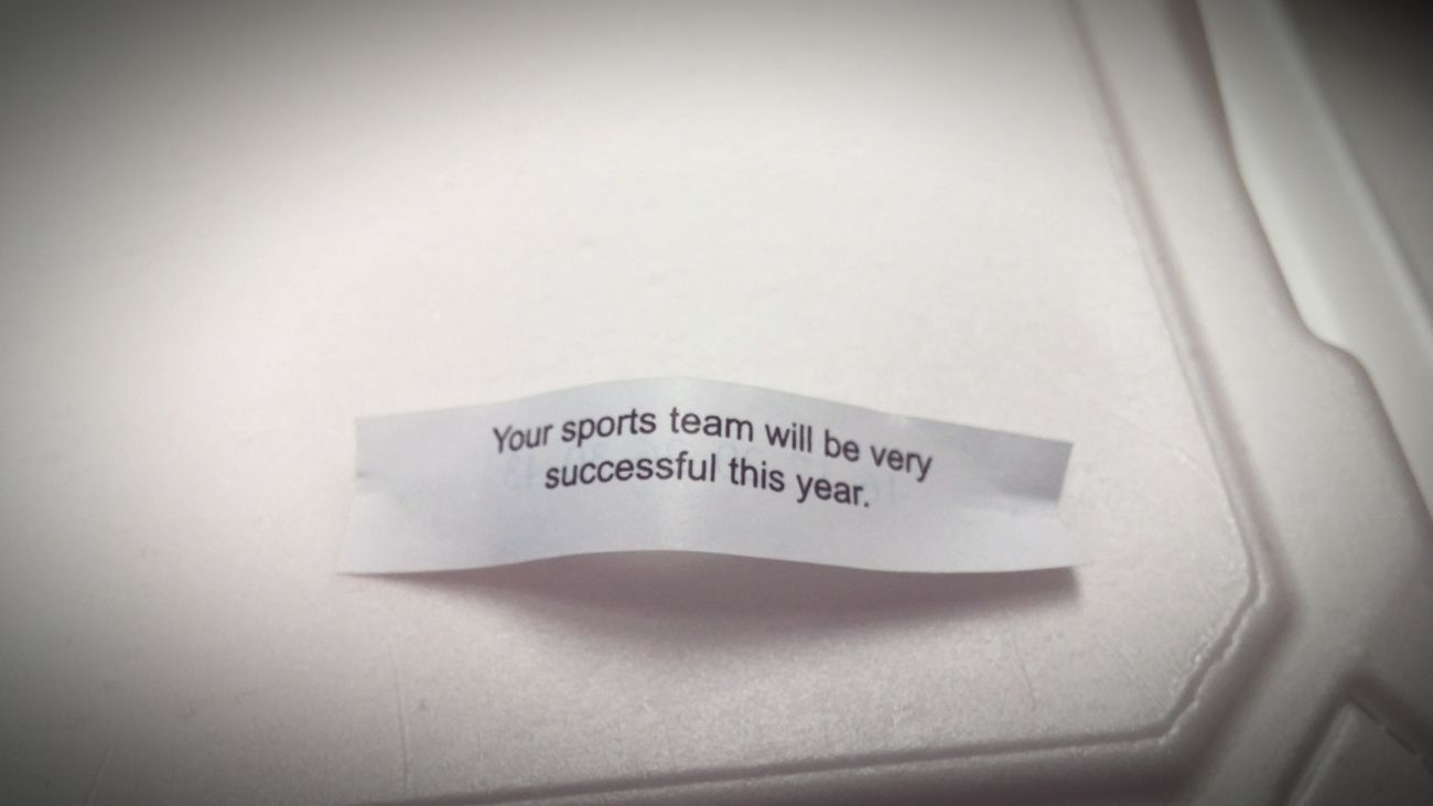 If Ohio State wins..this is why Fortune Cookie Chinese Food Ohio State Buckeyes