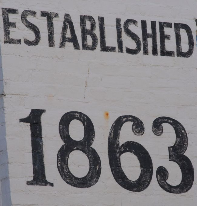 186 Black Color Painted Sign Painted Signage Silhouette Text Water White Wall Whitstable