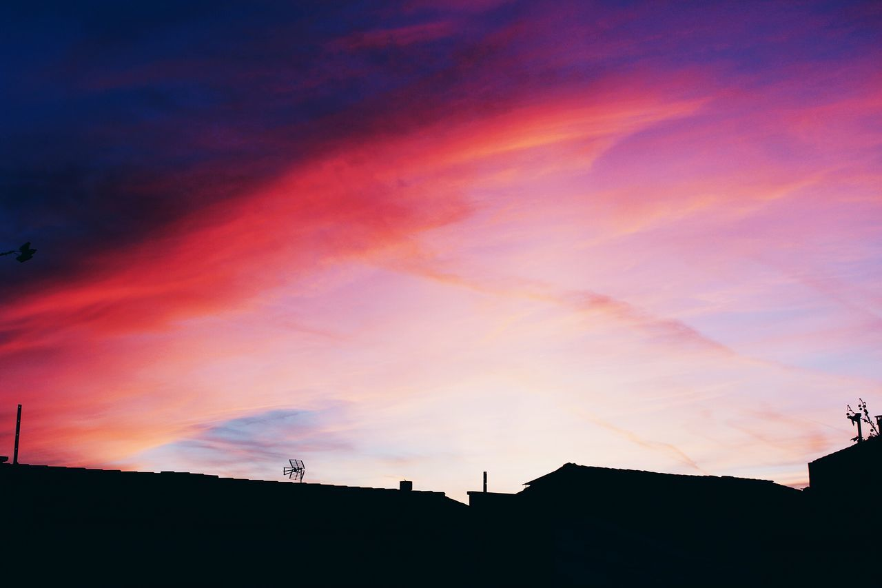 sunset, silhouette, sky, built structure, architecture, building exterior, no people, outdoors, beauty in nature, nature