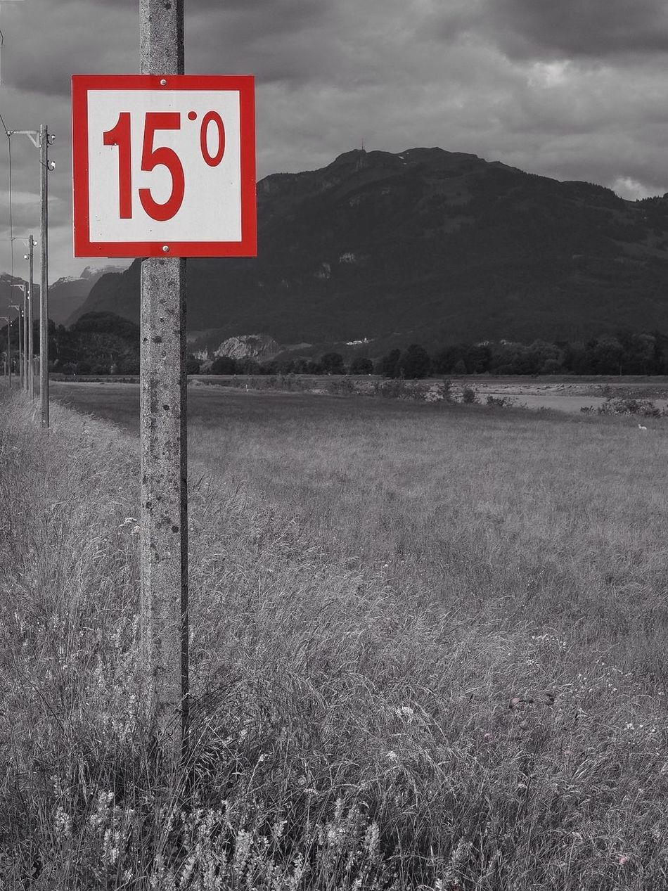 15°C - Summer may come... June 2016 15°C Clouds Rhine Valley Morning Sky Clouds And Sky Maeder Vorarlberg  Austria Nostalgia Selective Color Sign Of Summer Summer