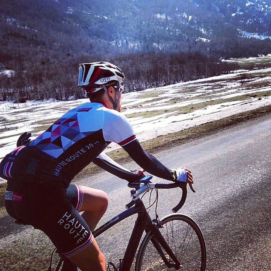 one goal, the pleasure of being in nature @haute_route @lemarq @guenergylabs Stravambassador Vercors