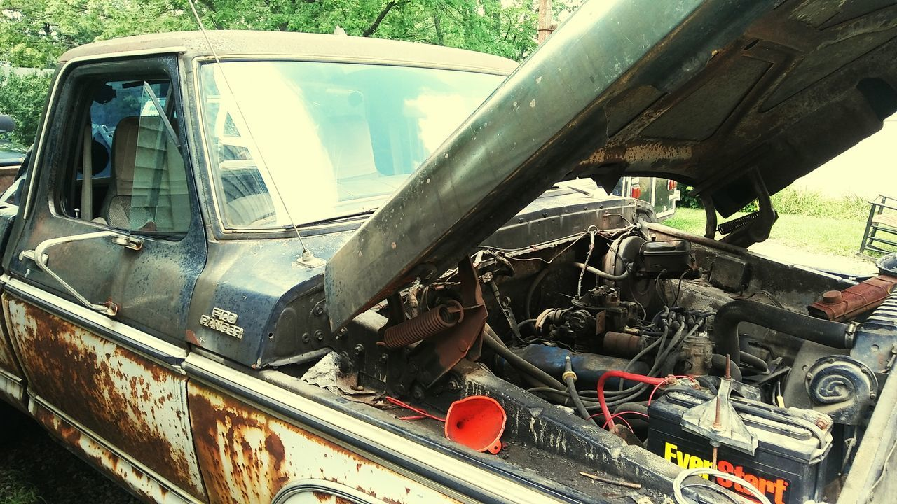 1979 Ford Truck.Old Truck Ford Truck Pickups One Mans Trash Is Another Ones Treasure  Vroom Vroom Still Runs Vintage Cars Rusty Truck V8