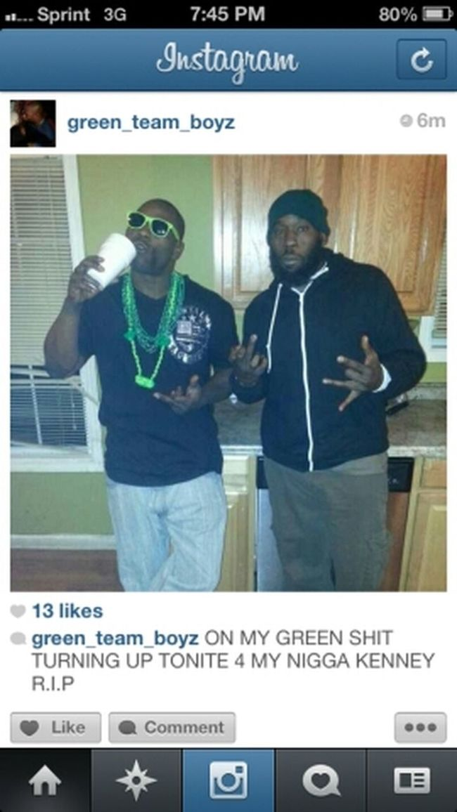 My Daddy And His Green Ream Brothers