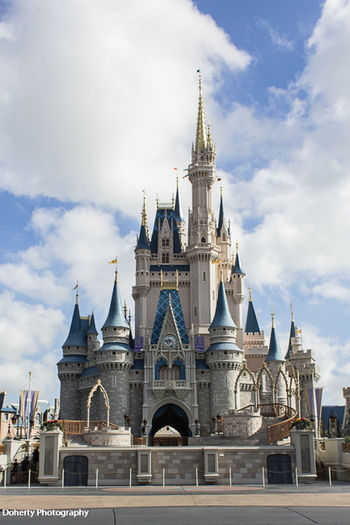 Architecture Building Exterior Built Structure City Cloud - Sky Day Disney Disney World Dome Façade History Low Angle View No People Outdoors Place Of Worship Religion Sky Spirituality Travel Destinations