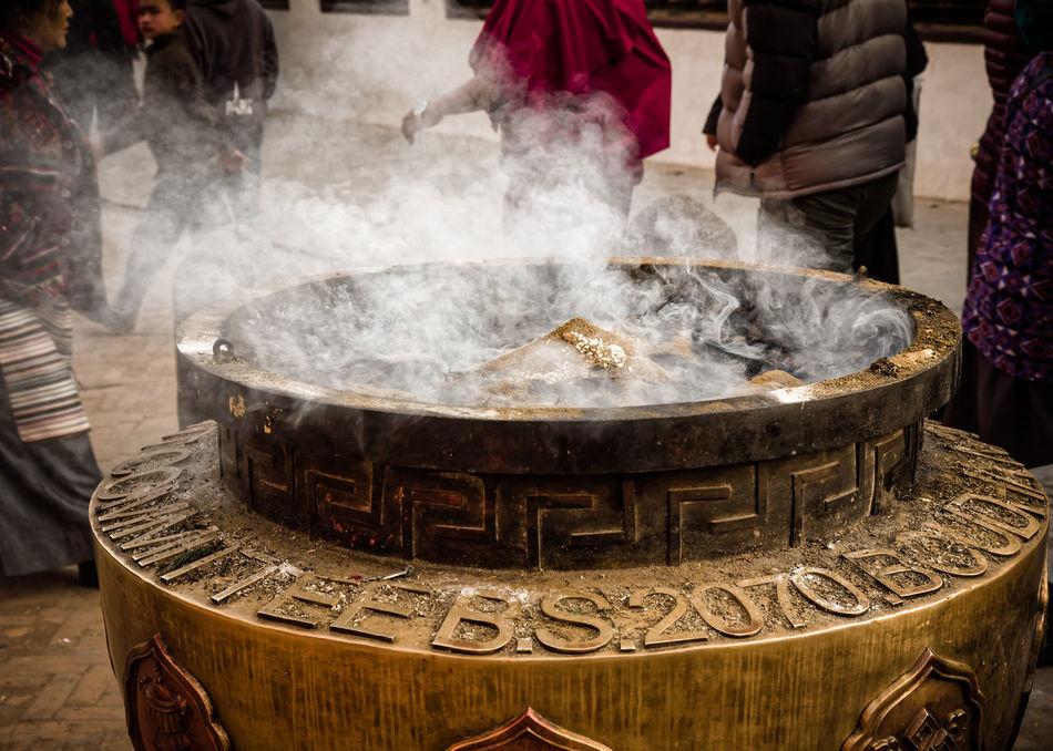 Beautiful stock photos of spiritual, Day, Group Of People, Incense, Incense Pot