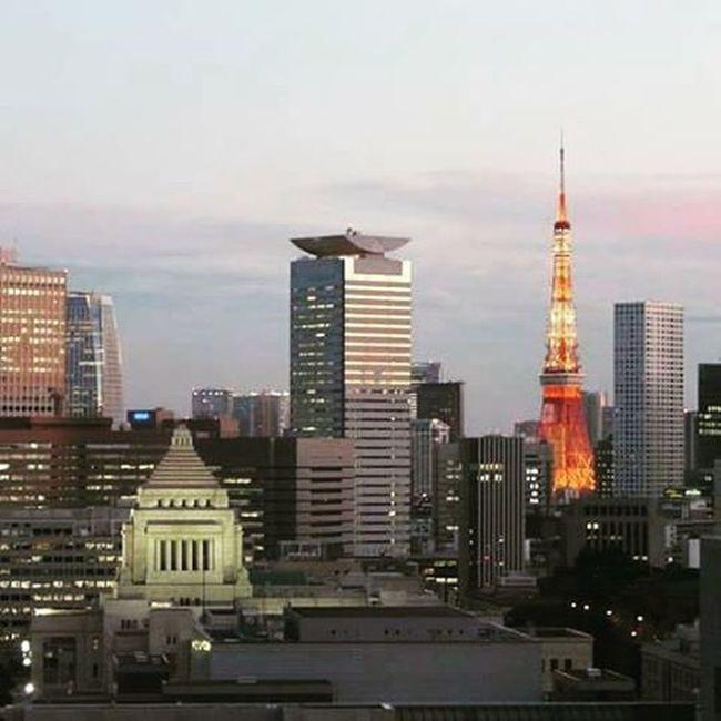 Tokyo Toweroftokyo Architecture Skyline Panorama View Sushi Japan Ilovejapan Ilovetokyo ASIA Minato  Chyoda Imperialpalace Shibuya Jal Thebestplaceintheworld February Winter Winterinjapan Holiday LoveTravel Travel Tower