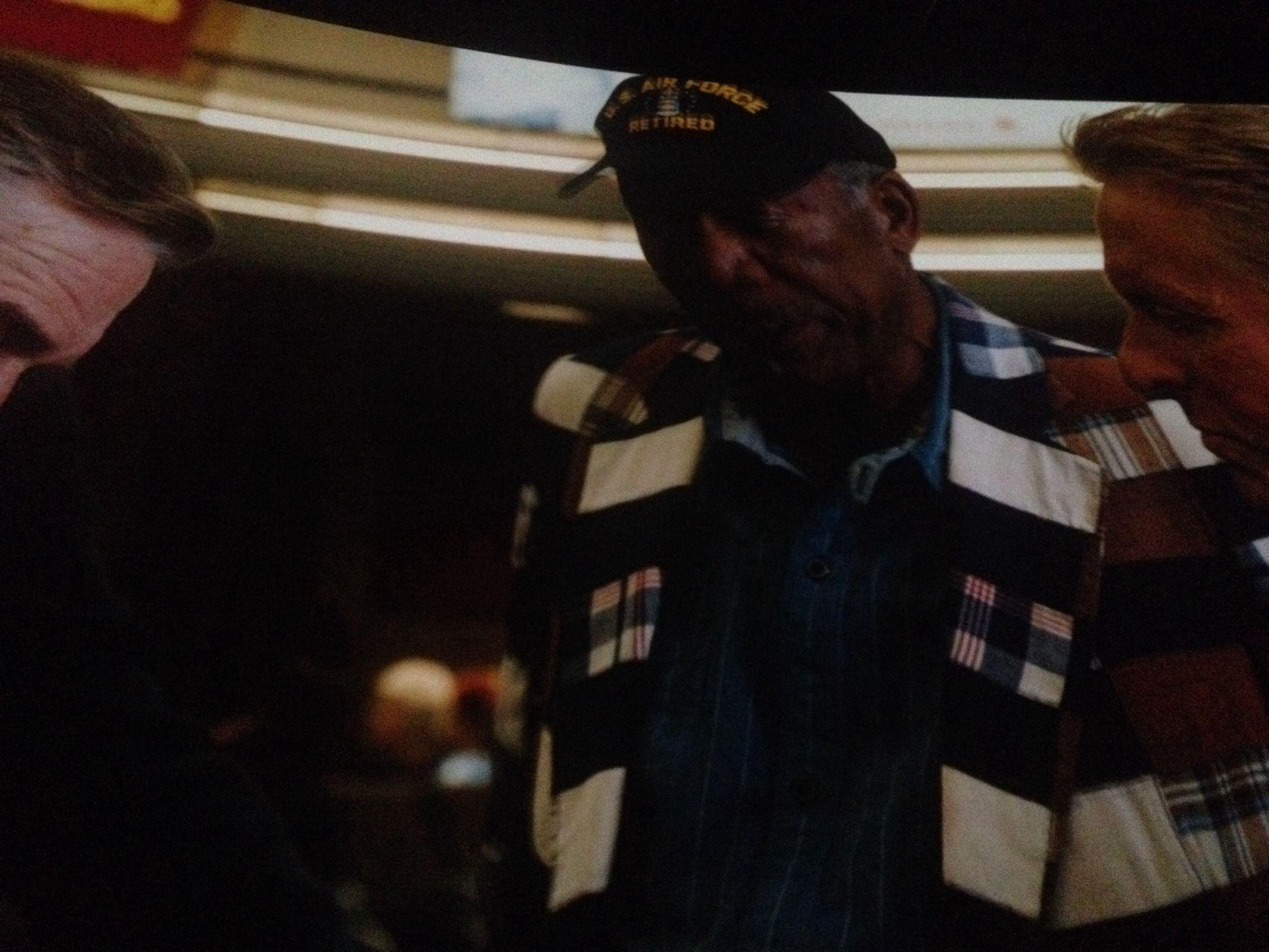 Watching A Movie Live Last Vegas Freeman