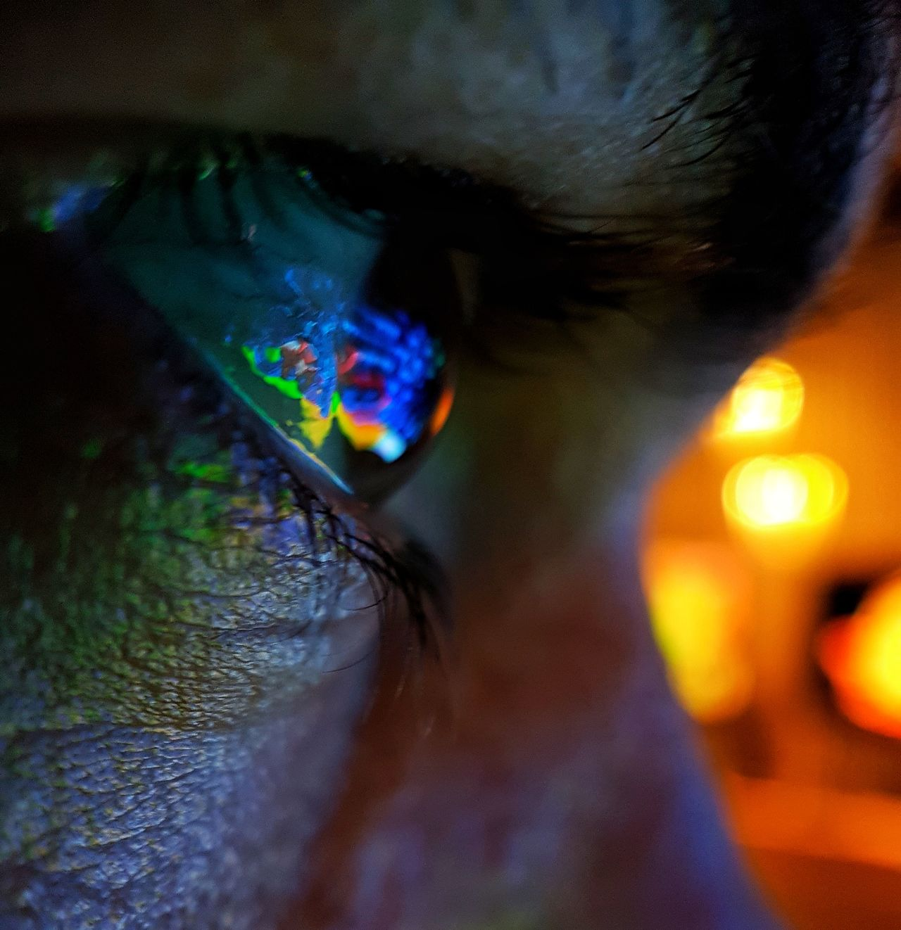 human body part one person illuminated close-up multi colored people indoors Adult night Adults Only human eye eyesight only women young adult Colourful Macro Beauty macro Beautiful The Week on EyeEm