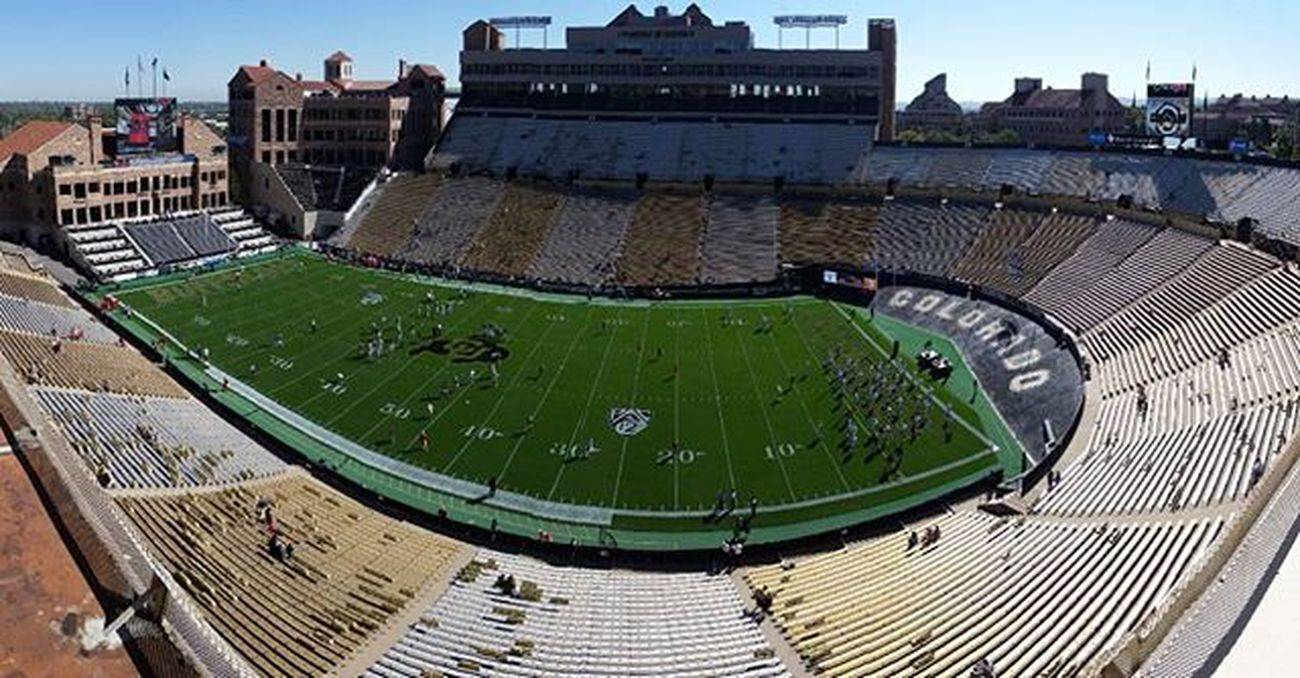 Here ya go @joeystageberg FolsomField in Colorado Collegefootball is about to happen making Tvmagic