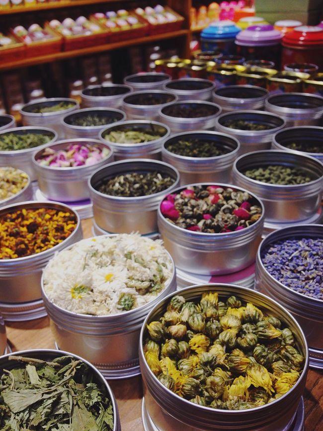 Tea Flowerstea Dry Flower  ChInaTea Drinks Organised Colorful