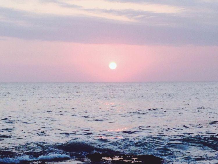 SUNSET Enjoying The Sun Sunshine Sandcastles Swimming
